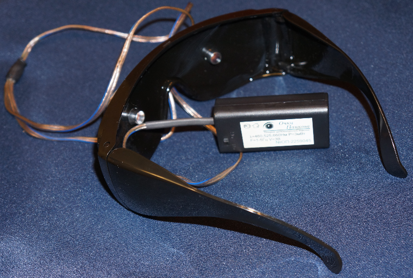 накладки из линз на очки