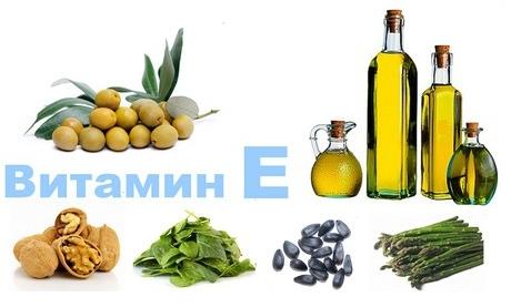 Значение витамина Е Потребность в витамине Е