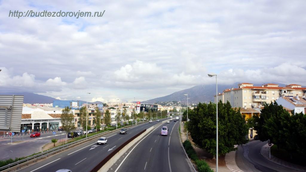 Городская магистраль в Фуенхироле