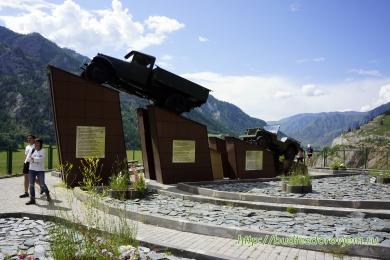 Мемориал, посвящённый водителям